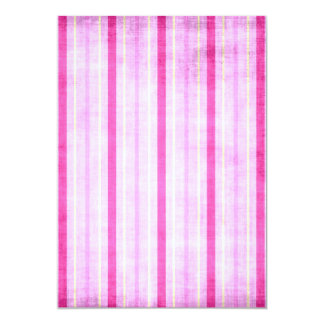 "449_lilies-paper-stripes CARAMELO BLANCO ROSADO Invitación 5"" X 7"""