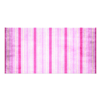 449_lilies-paper-stripes PINK WHITE CANDY CANDYCAN Card