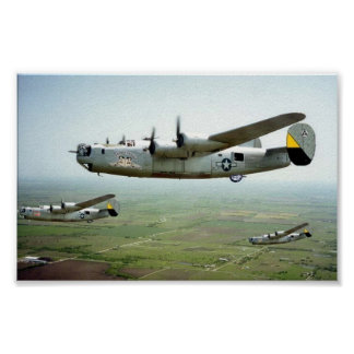 449o corrida bomba B-24 Póster