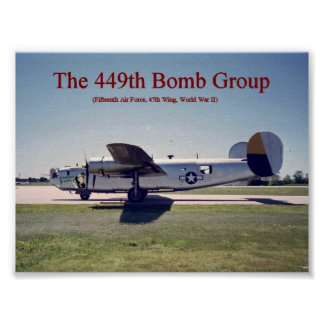 449th B24 Poster
