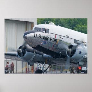 44-76716 C-47B Skytrain Yankee Doodle Dandy Poster