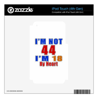 44 American Legend Birthday Designs Skin For iPod Touch 4G