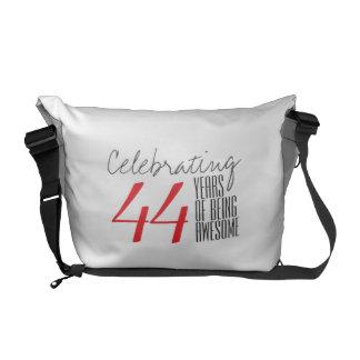 44 años de ser impresionante bolsa messenger