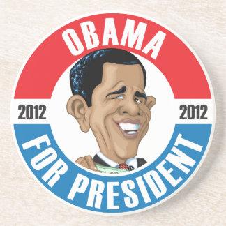 #44 Barack Obama Campaign Coaster