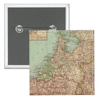 44 Belgium and Holland Pinback Button