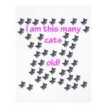 44 cabezas del gato viejas tarjetones