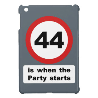 44 is when the Party Starts iPad Mini Case