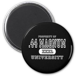 44 Magnum Univeristy Dark 2 Inch Round Magnet
