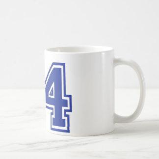 44 - número tazas de café