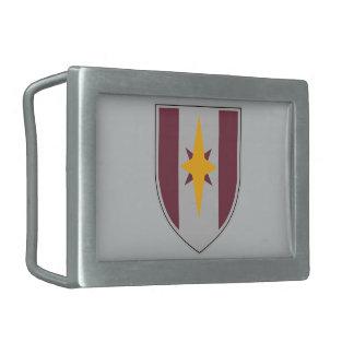 44.o Brigada médica Hebilla De Cinturon Rectangular