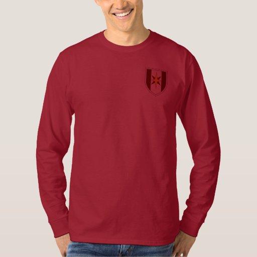 44.o Camiseta larga de la manga de la brigada Poleras