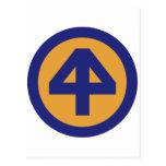 44.o División de infantería Postales