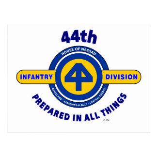 """44.o DIVISIÓN de INFANTERÍA """"PREPARADA EN TODAS Tarjetas Postales"""