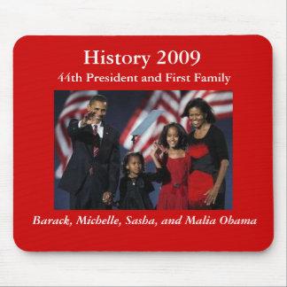 44 o Familia presidencial Mousepad Tapete De Ratones
