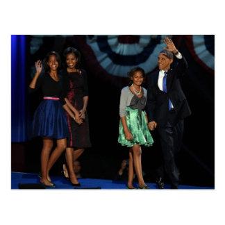 44 o Familia presidencial Postcard-2012 de los E E Postales