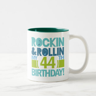 44.o Ideas del regalo de cumpleaños Taza De Dos Tonos