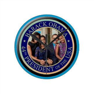 44.o Inauguración 2013 de presidente Barack Obama Reloj Redondo Mediano