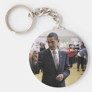44.o Presidente Barack Obama Llaveros Personalizados