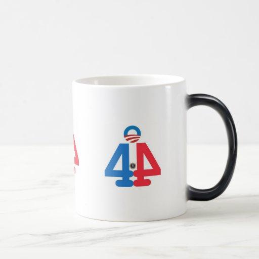 44.o PRESIDENTE de la taza de los E.E.U.U. Barack