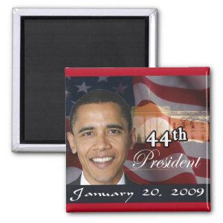 44.o Presidente Memorabilia Imán Cuadrado