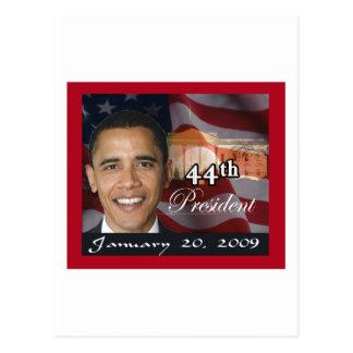 44.o Presidente Memorabilia Tarjeta Postal