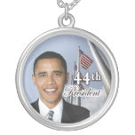 44.o Presidente Obama Necklace Grimpolas