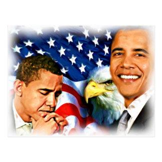 44.o y 45.o presidente Barack Obama_ Postal