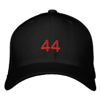 44 Obama  Inauguration Embroidered Baseball Cap