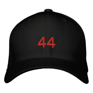 44 Obama  Inauguration Embroidered Baseball Cap