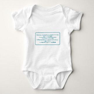 44-PRESIDENTS BABY BODYSUIT