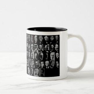 44 presidents, LIST OF PRESIDENTS Two-Tone Coffee Mug