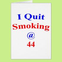 44 Quit Smoking Card