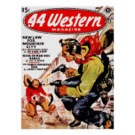 .44 Western - New Law for Mountain City Poster