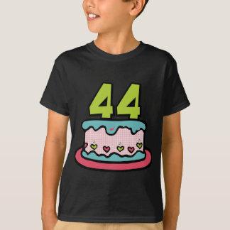 44 Year Old Birthday Cake T-Shirt