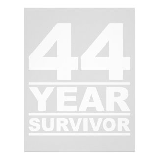 44 year survivor letterhead