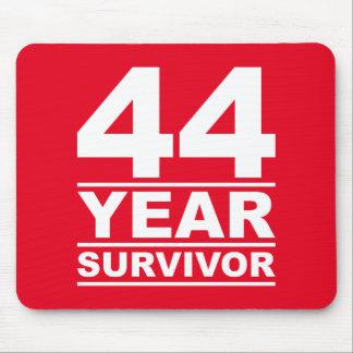 44 year survivor mouse pad