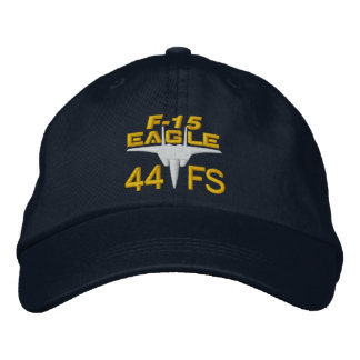 44FS F-15 High Tech Eagle Golf Hat Embroidered Hat