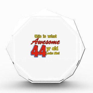 44th birthday designs awards
