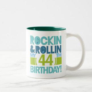 44th Birthday Gift Ideas Two-Tone Coffee Mug