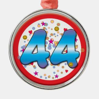 44th Birthday Ornaments