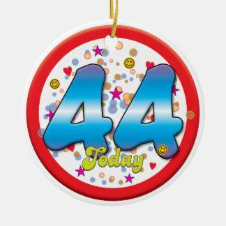 44th Birthday Today Christmas Tree Ornament