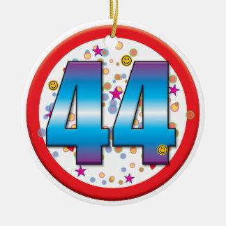 44th Birthday v2 Christmas Ornament