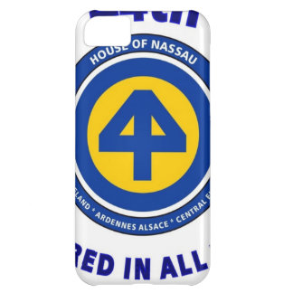 "44TH INFANTRY DIVISION ""PREPARED IN ALL THINGS"" COVER FOR iPhone 5C"