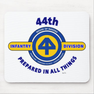 """44TH INFANTRY DIVISION """"PREPARED IN ALL THINGS"""" MOUSE PAD"""