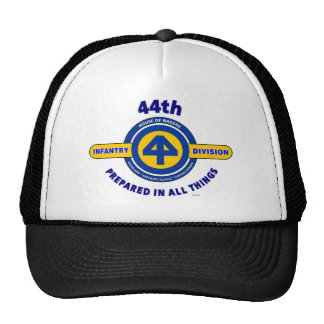 "44TH INFANTRY DIVISION ""PREPARED IN ALL THINGS"" TRUCKER HAT"