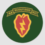 44th IPSD - 25th Infantry Classic Round Sticker