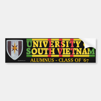 44th Med Bde - U of South Vietnam Alumnus Sticker