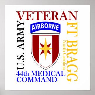 44th MEDCOM - Fort Bragg Poster