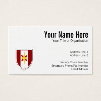 44th Medical Brigade Patch Business Card