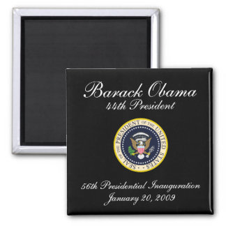 44th President 2 Inch Square Magnet
